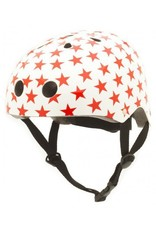 Coconuts fietshelm kind Red star
