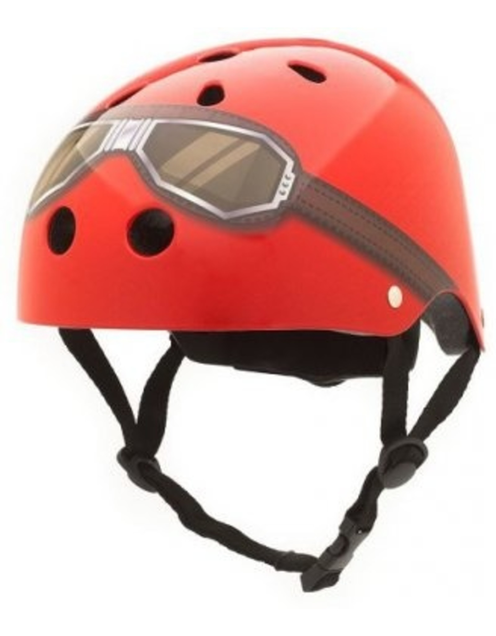 Coconuts fietshelm kind Red goggle