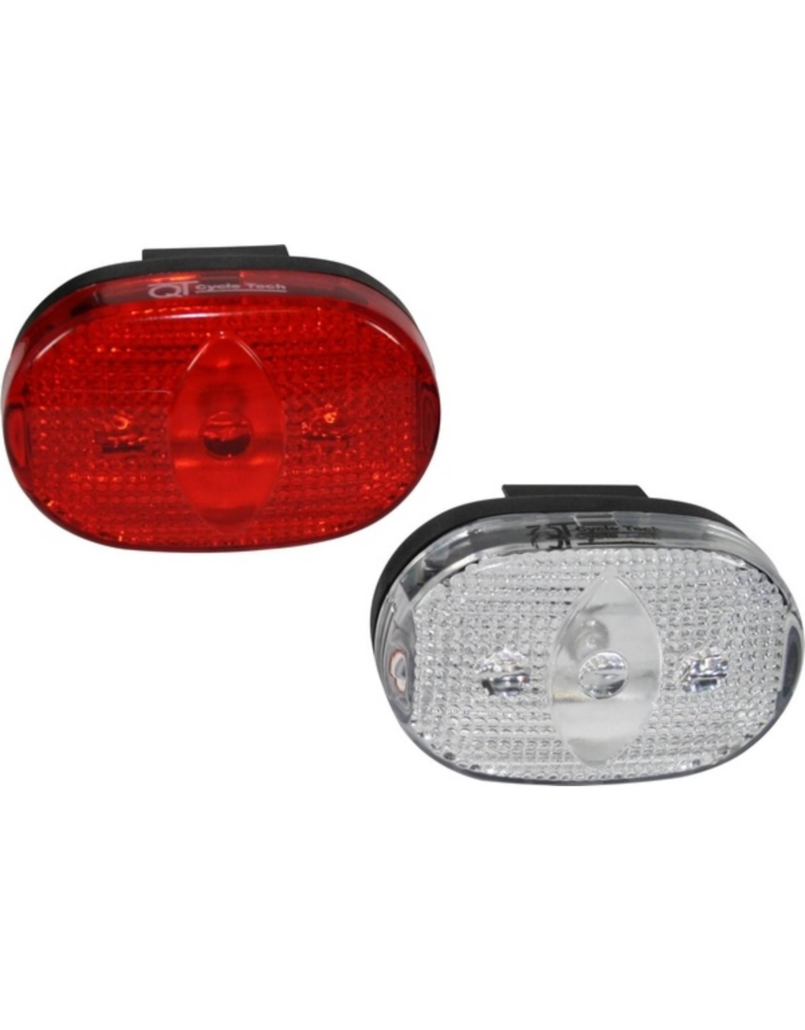 QT  Lichtset - witte en rode leds