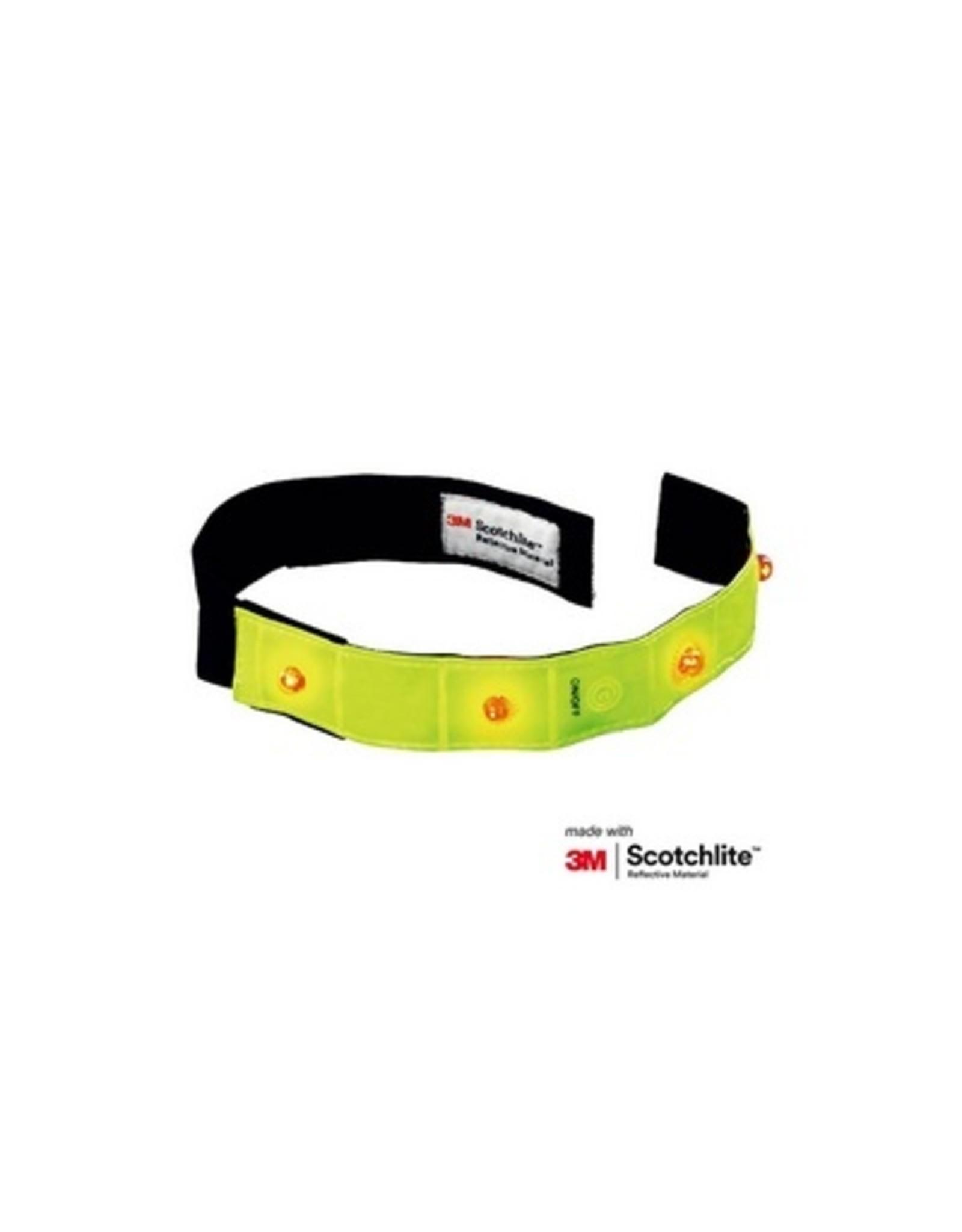 Salzmann Reflecterende armband met leds