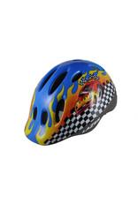 Lazer Max+ fietshelm kind Race car