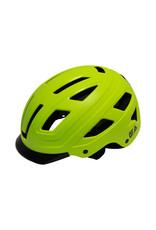QT Cycle Tech fietshelm volwassene Urban Style fluo