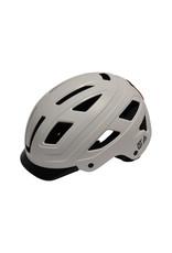 QT Cycle Tech fietshelm volwassene Urban Style wit