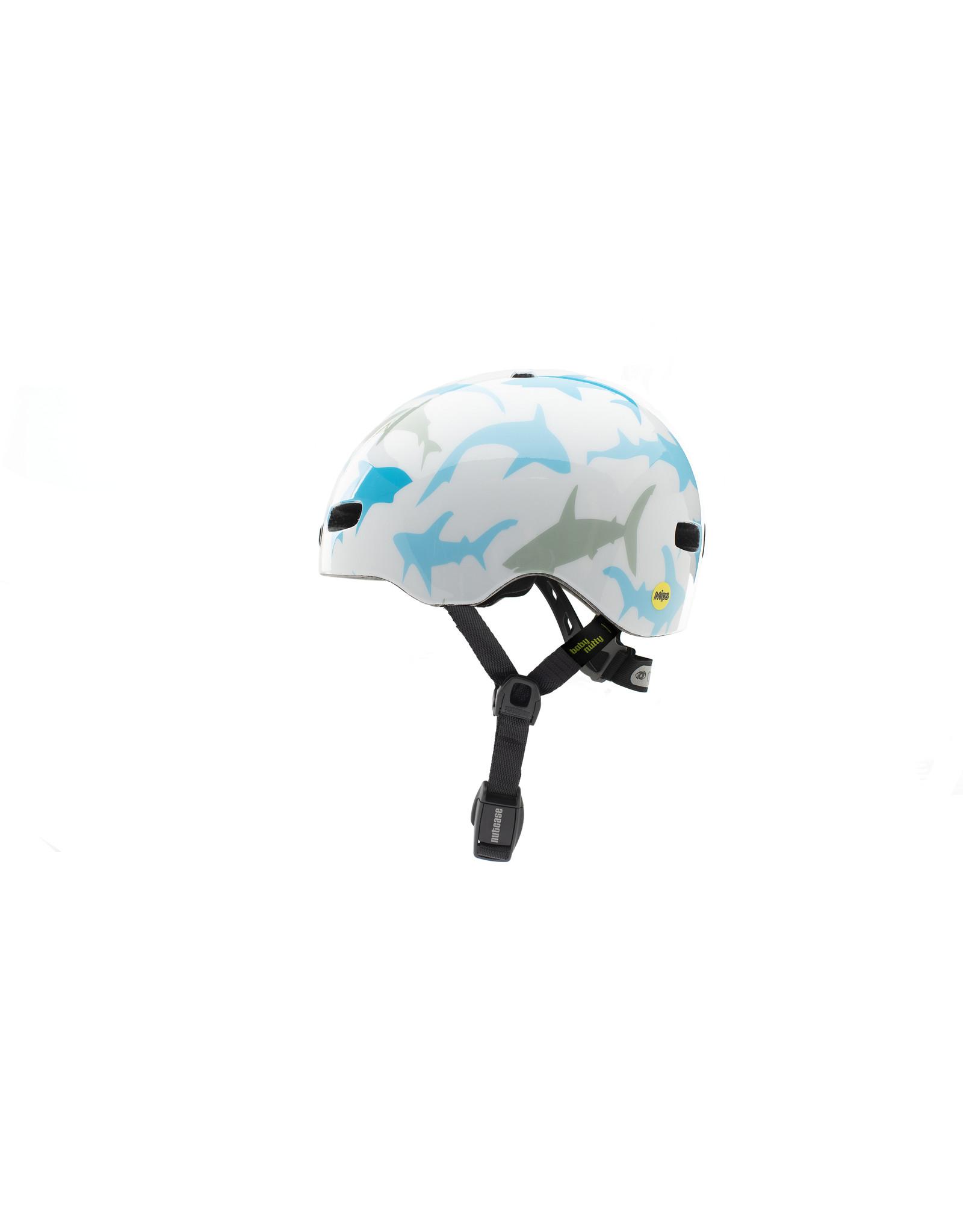 Nutcase  fietshelm  Baby Nutty Baby Shark Gloss MIPS Helmet