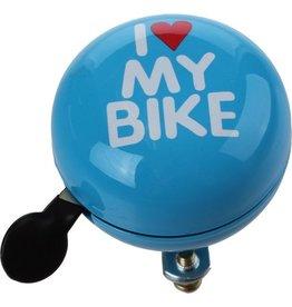 QT Fietsbel I Love My Bike Blauw