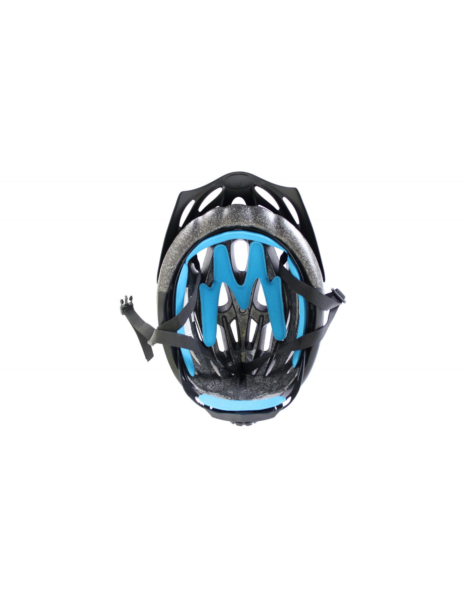 QT fietshelm Fuse Blauw