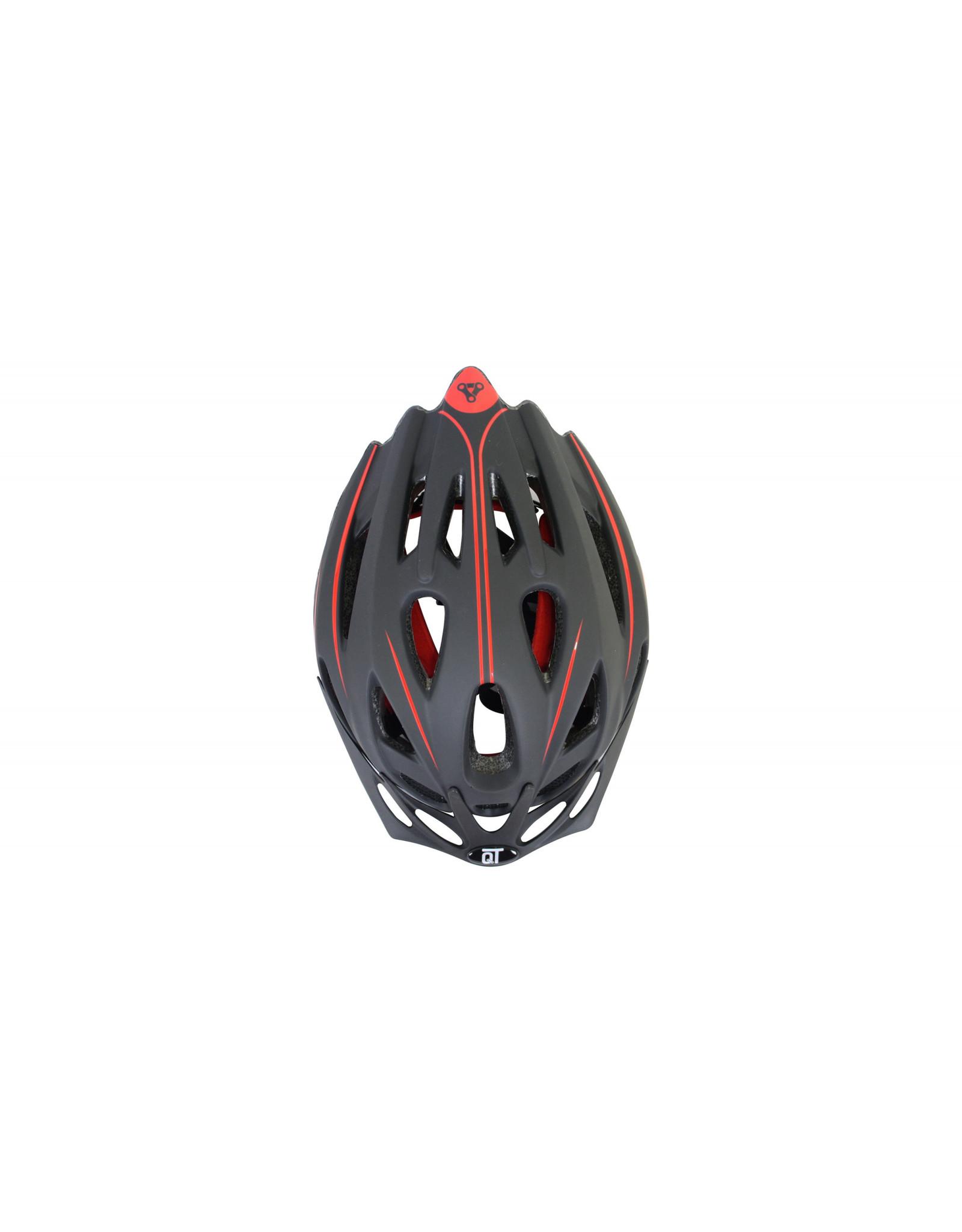 QT fietshelm Fuse Rood