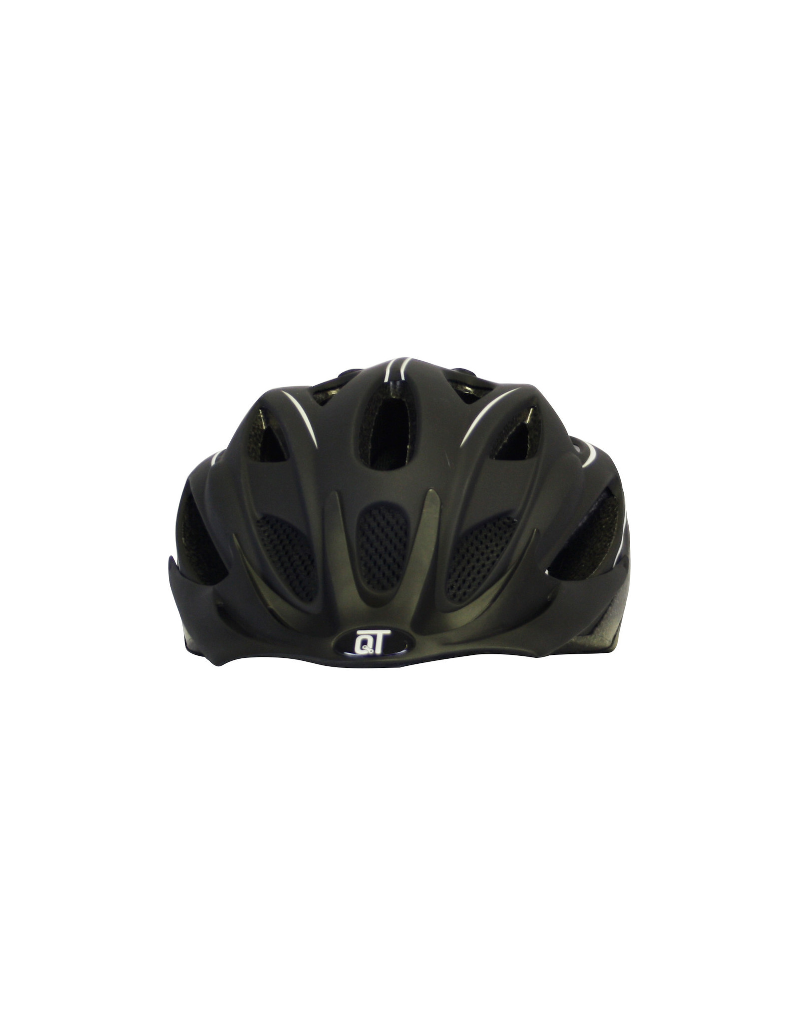 QT fietshelm FuseWit
