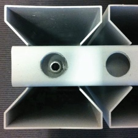 Thermrad AluStyle 2033 x 640 zwart - 8 kolommen