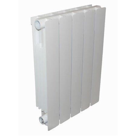Thermrad AluBasic 881 hoog x 400 breed - 5 kolommen