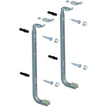 Set Rofix J-beugels voor radiatoren van 300 t/m 900 hoog