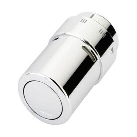 Danfoss RAX thermostaatkop chroom met vloeistofvoeler