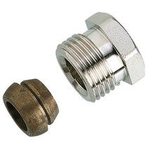 "Danfoss knelset 1/2"" x 15mm"