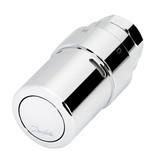 Danfoss RAX-K thermostaatkop chroom met vloeistofvoeler