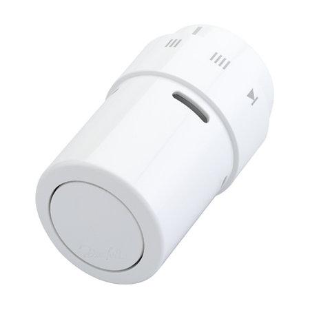 Danfoss RAX thermostaatkop wit met vloeistofvoeler
