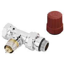 "Danfoss RA-NX/C thermostaatkraan 1/2"" recht chroom"