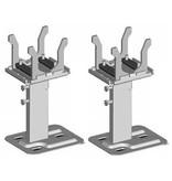 Set Thermrad Compact-4 Plus vloerconsoles voor type 22 en 33