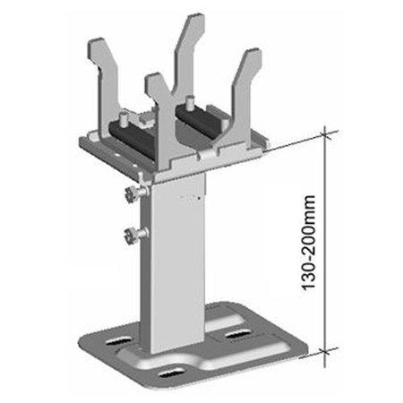 Set Thermrad Compact-4 vloerconsoles voor type 22 en 33