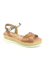 Oh My Sandals 9261 cognac bruin