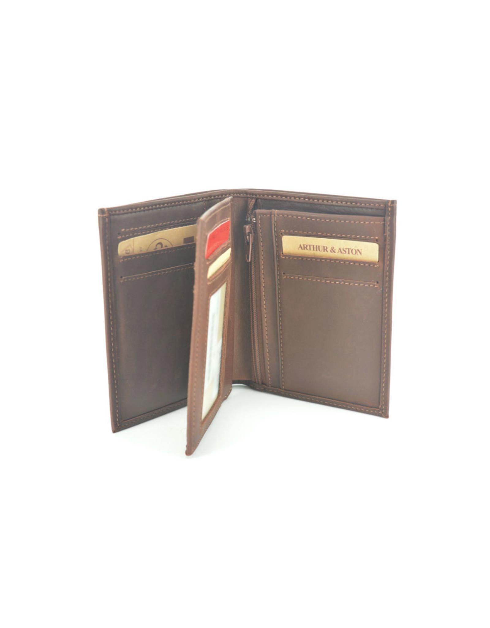 Arthur&Aston 1851 cognac bruin