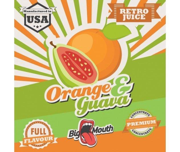 Big Mouth Retro Juice Aroma - Orange & Guava