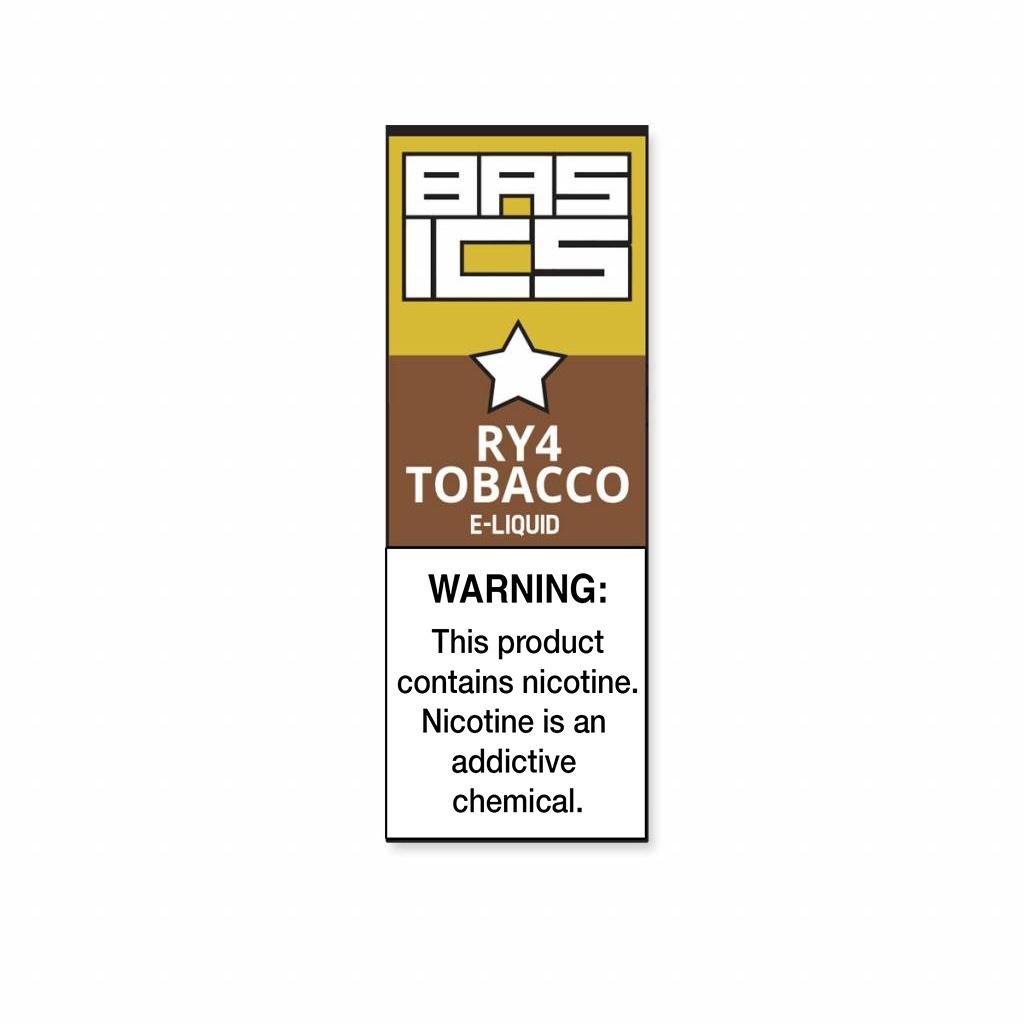 Basics - RY4 Tobacco
