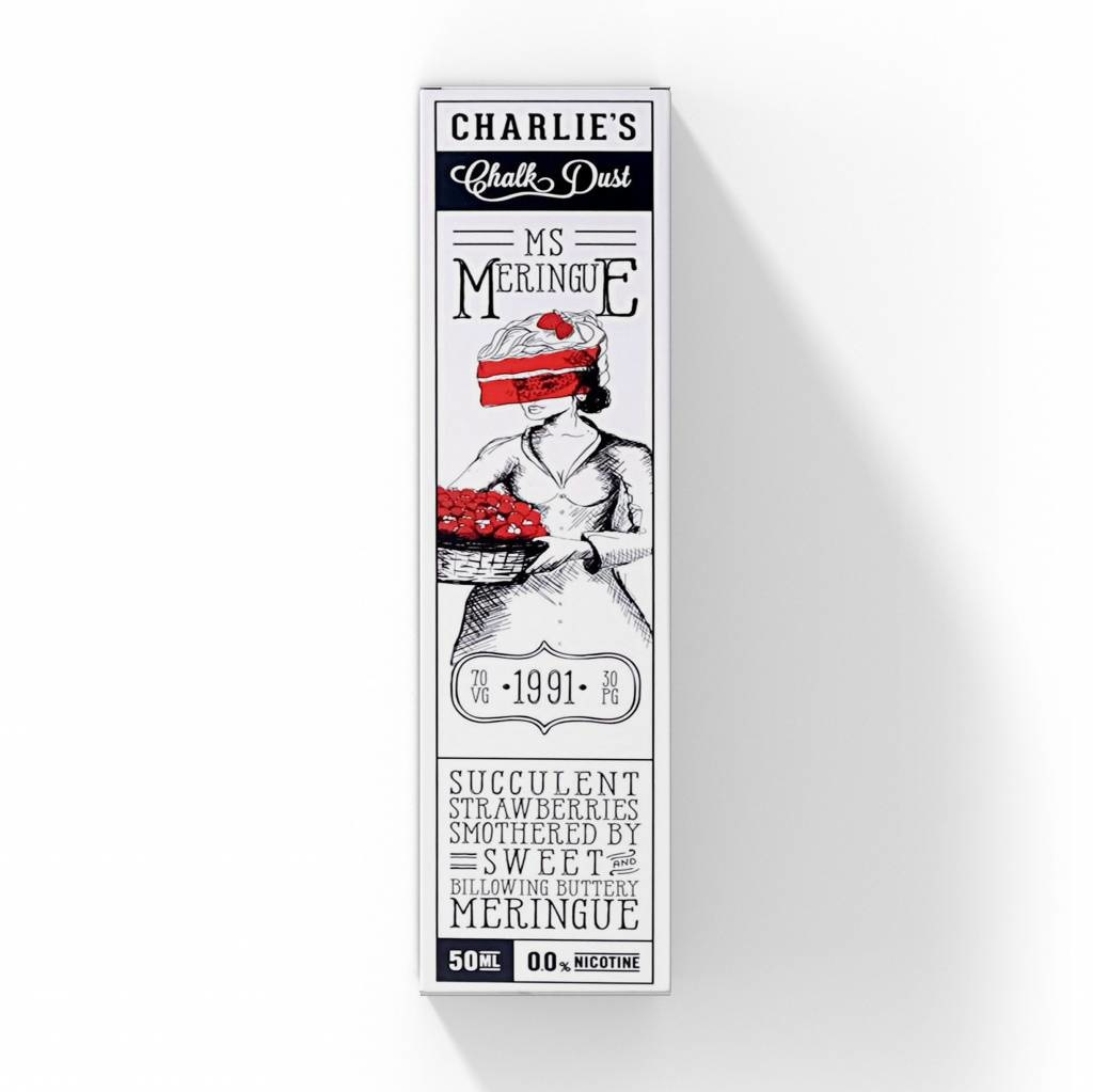 Charlie's Chalk Dust - Ms. Meringue - 50ml
