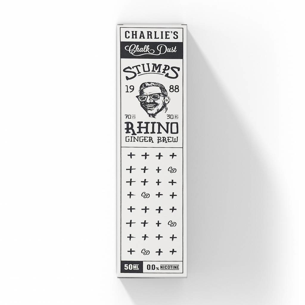 Charlie's Chalk Dust   STUMPS   Rhino - 50ml
