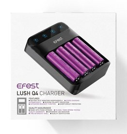 Efest LUSH Q4 Battery Charger