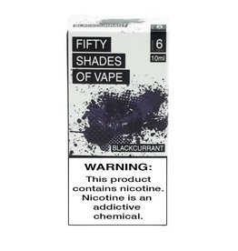 Fifty Shades of Vape - Blackcurrant