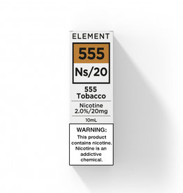 Element - Nic Salts - 555 Tobacco - Ns / 20MG