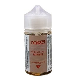Naked 100 Tobacco | American Patriot - 50ml