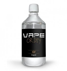 Vape or DIY Base - 1 liter - 0mg