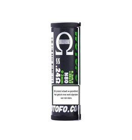 Wotofo Braided Prebuild Wire 0.24ohm 10pcs / pack