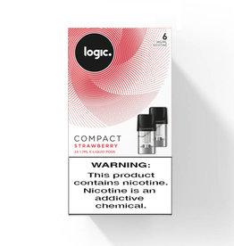 Logic Compact Pod - Strawberry - 2 Pcs