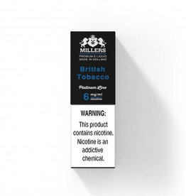 Millers Juice Platinumline - British Tobacco