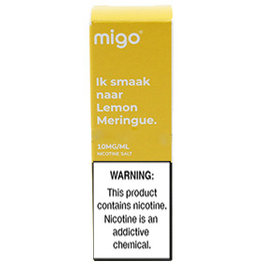 Migo - Lemon Meringue (Nic Salt)
