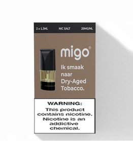Migo Pods - Dry Aged Tobacco - 2 Pcs