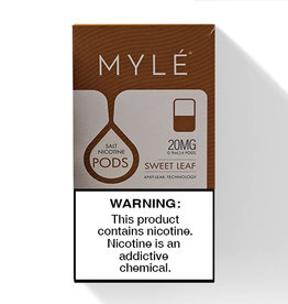 Mylé pod - Sweet Tobacco - 4 Pcs
