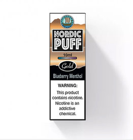 Nordic Puff Gold - Blueberry Menthol