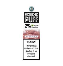Nordic Puff Nic Salts - Bubblegum