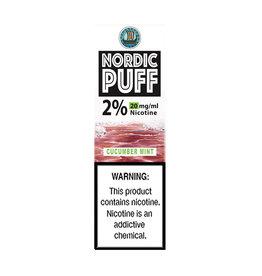 Nordic Puff Nic Salts - Cucumber Mint