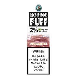 Nordic Puff Nic Salts - Juicy Peach