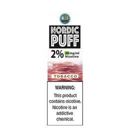Nordic Puff Nic Salts - Tobacco