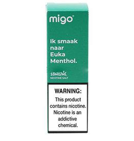 Migo - Euka Menthol (Nic Salt)