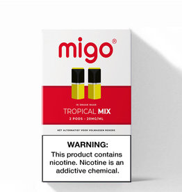 Migo Pods - Tropical Mix -2Pcs