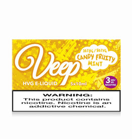 Veep Candy Fruity Mint- 5x10ml