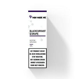 Man Made Nic - Blackcurrant & Grape