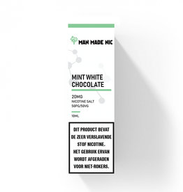 "Man Made Nic - Mint White Chocolate ""Nic Salt"""