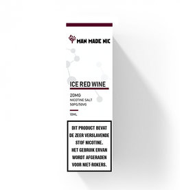 "Man Made Nic - Ice Red Wine ""Nic Salt"""